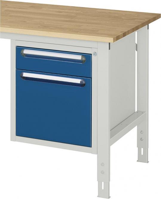 Unterbau-Container, für SYSTEM VK3060 Enzianblau RAL 5010 | 545 | Ohne | 2