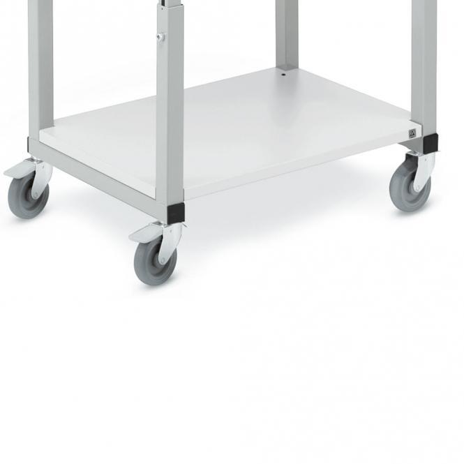 Unterplatte für mobilen Arbeitstisch