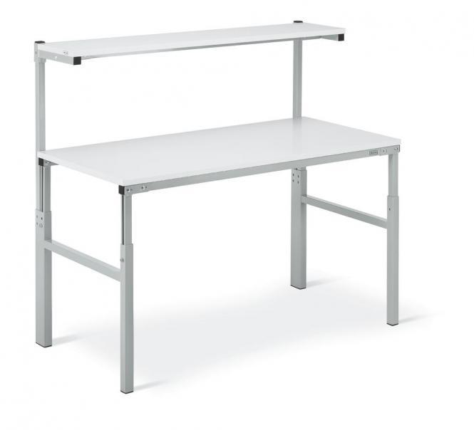 Universal-Arbeitstisch ESD, mit Systemaufbau 1800 | 900 | ESD-Ausführung