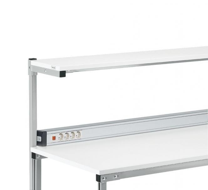 Energieleiste mit 3 m Zuleitung für Tischbreite 1500 mm | 1358