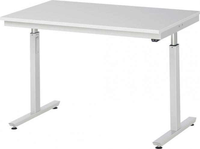 Werkbank SERIE E3 - Flächenlast bis zu 300 kg 1250   800   Melaminharz-Platte   300