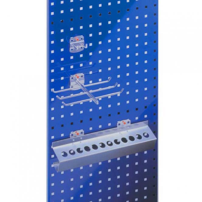 System RASTERPLAN Lochplatten Enzianblau RAL 5010 | 1000