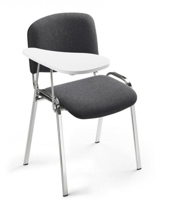 Schreibbrett für Besucherstühle ISO, 4-Fuß