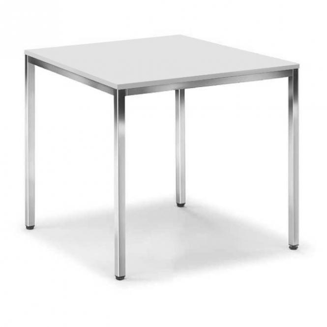 Konferenztisch BASE-MODUL Lichtgrau | 800 | 800 | Quadrat