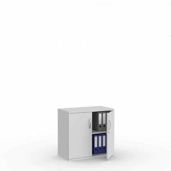 Flügeltürenschrank PROFI MODUL Lichtgrau | 800 | Türanschlag Mitte | 2