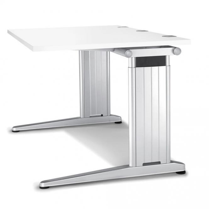 Schreibtisch C-Fuß PROFI MODUL Weiß | 2000