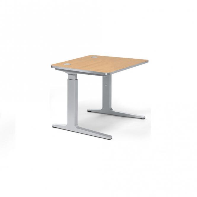 Schreibtisch iMODUL Buchedekor   800   Quadrat