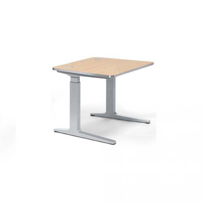 Schreibtisch Rechteck iMODUL Ahorndekor | 800 | Quadrat