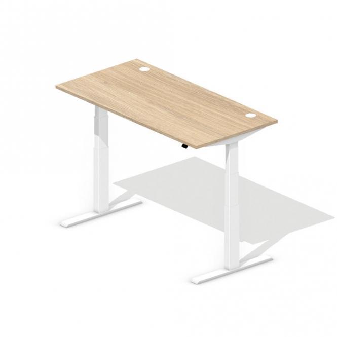 Sitz-/Stehschreibtisch BOSSINO Eichedekor | 1600