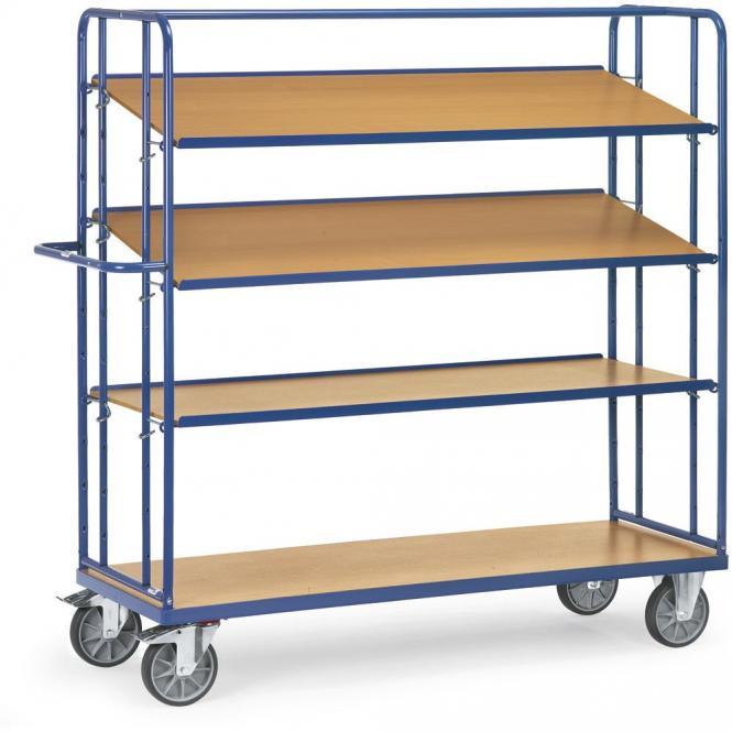 etagenwagen mit verstellbaren b den 600 kg bequem online bestellen bei delta v b rom bel. Black Bedroom Furniture Sets. Home Design Ideas