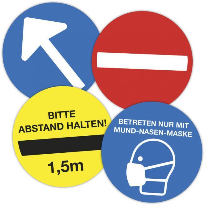Selbstklebende Leitsystem-Sticker/Aufkleber