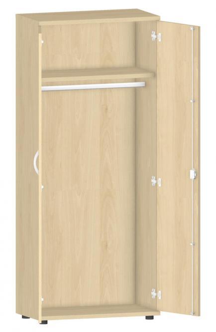 XXL-Garderobenschrank PROFI MODUL Buchedekor   800   1890 mm (1 OH)
