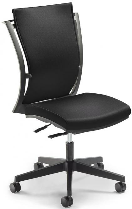 Bürodrehstuhl FlexPRO ohne Armlehnen Schwarz