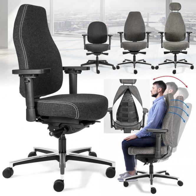 Bürodrehstuhl SenseFIT DV - Therapod SenseFI Technologie