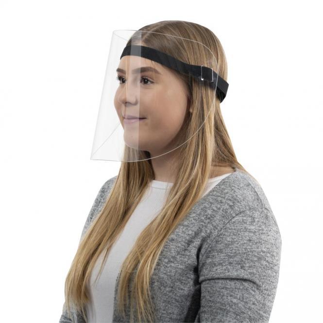Gesichtsvisier / Gesichtschutz aus Kunststoff