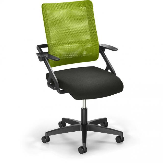 Bürodrehstuhl SITNESS 60-3D NET inkl. Armlehnen Grün