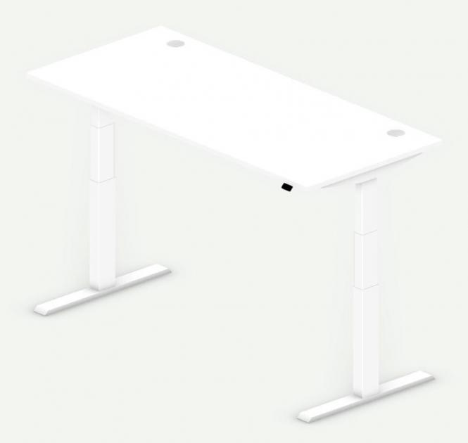 Sitz-/Stehtisch Comfort PROFI MODUL Weiß | 1800 | Weiß RAL 9016