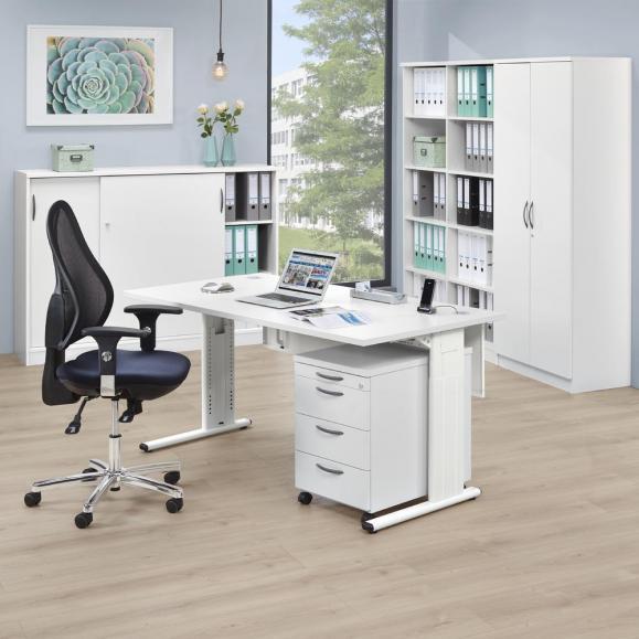 Bürodrehstuhl COMFORT NET DELUXE - Synchron-Mechanik
