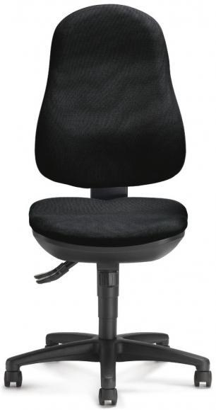 Bürodrehstuhl COMFORT I ohne Armlehnen Schwarz | ohne Armlehnen (optional) | Polyamid schwarz