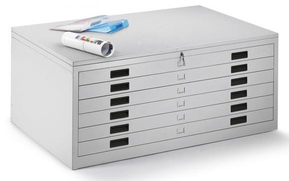 Zeichnungs-, Materialschrank für Planablage DIN A0