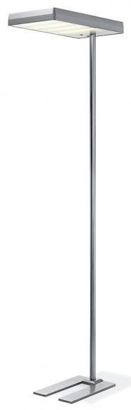 Stehleuchte mit LED Aluminium getrennt steuerbar