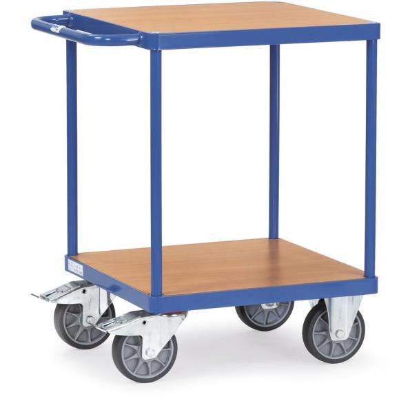 Schwere Tischwagen 500kg, quadratische Ladefläche