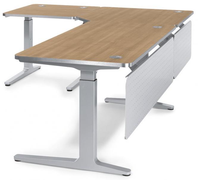 schritt 2 schreibtisch verkettungsplatten ergonomiearbeitsplatz imodul selbst gestalten. Black Bedroom Furniture Sets. Home Design Ideas