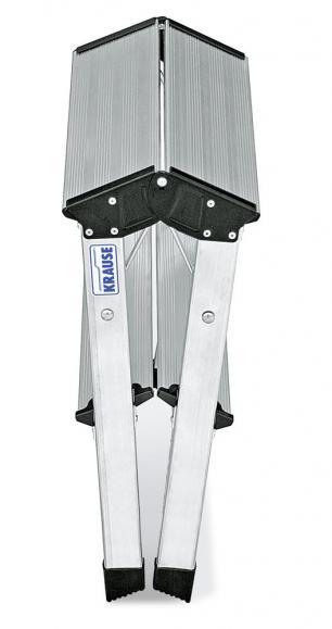 Aluminium-Doppel-Klapptritt