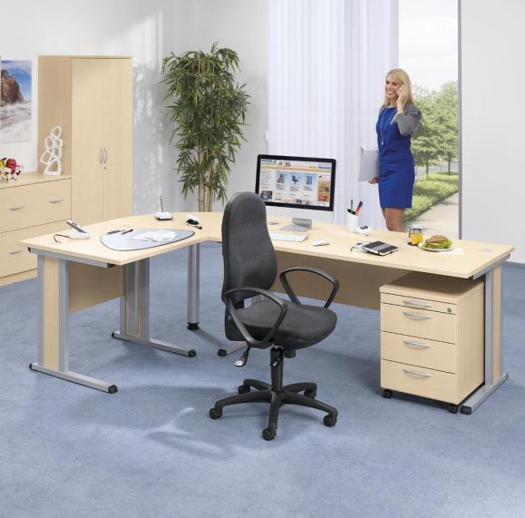 Bürodrehstuhl COMFORT I - Synchron-Mechanik