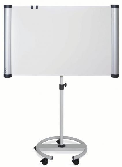 Flipchart Mobil 90°, als Projektionsfläche nutzbar