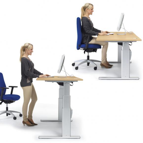 Sitz-/ Stehschreibtische BASIC MULTI MODUL