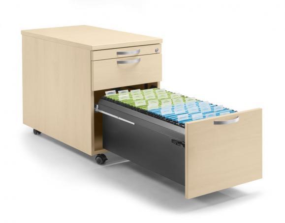 Rollcontainer PROFI MODUL - mit gedämpftem Selbsteinzug