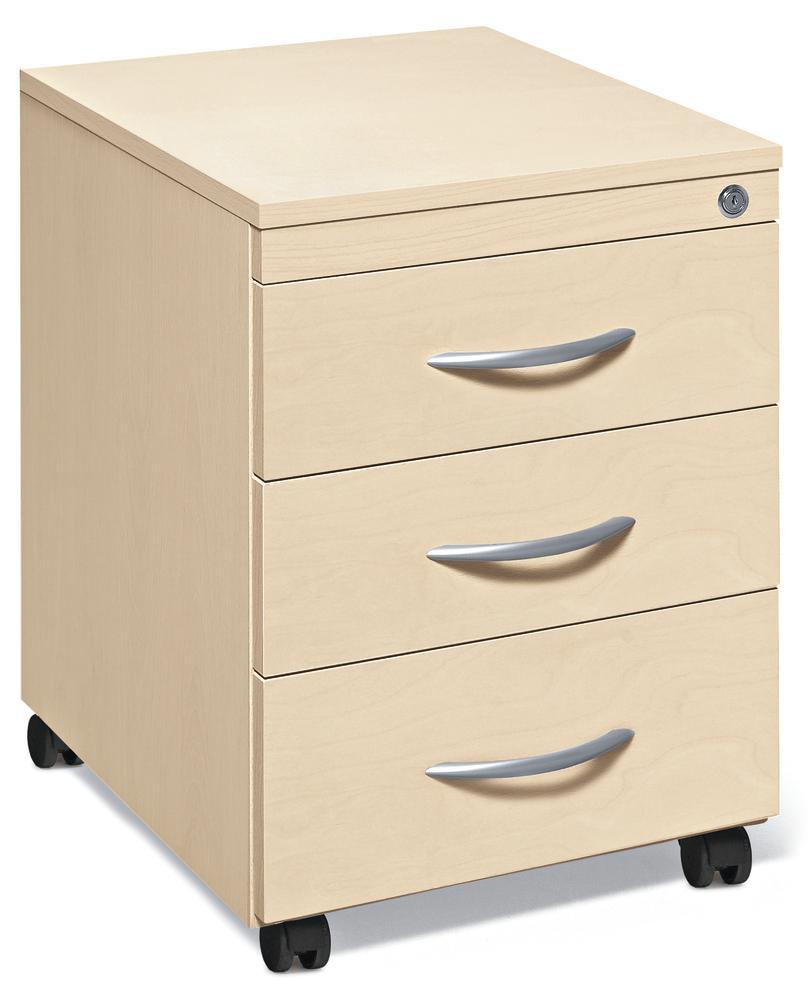 rollcontainer multi modul ahorndekor 460 mit schubladen bequem online bestellen bei delta. Black Bedroom Furniture Sets. Home Design Ideas