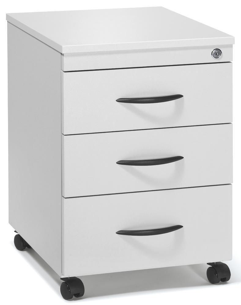 rollcontainer multi modul lichtgrau 460 mit schubladen bequem online bestellen bei delta v. Black Bedroom Furniture Sets. Home Design Ideas