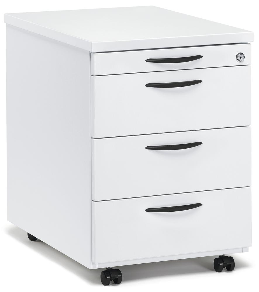 rollcontainer multi modul wei 600 mit schubladen bequem online bestellen bei delta v. Black Bedroom Furniture Sets. Home Design Ideas