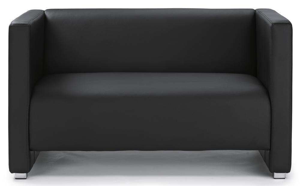 sofa z rich schwarz sofa kunstleder bequem online. Black Bedroom Furniture Sets. Home Design Ideas