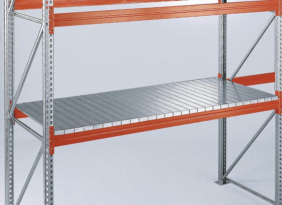 Boden aus Stahlpaneelen für Palettenregal   bequem online bestellen ...