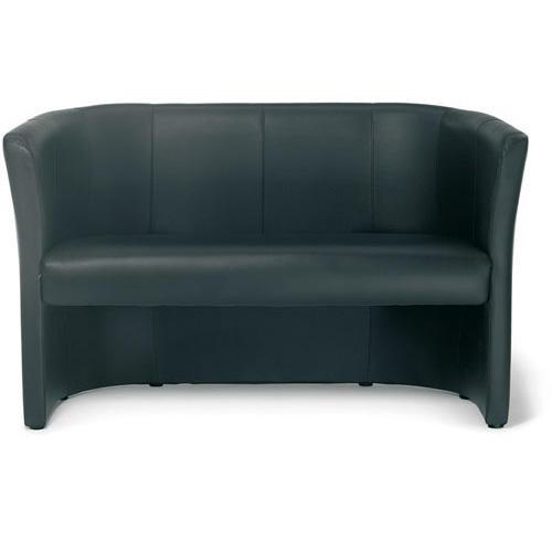 designsofa schwarz sofa kunstleder bequem online. Black Bedroom Furniture Sets. Home Design Ideas