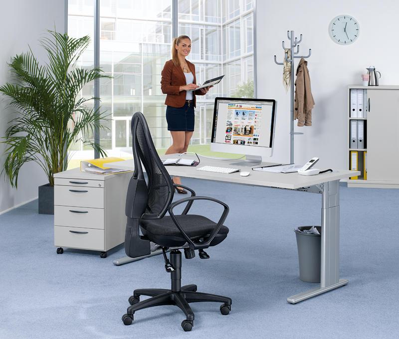 komplett b ro set 1 multi modul bequem online bestellen. Black Bedroom Furniture Sets. Home Design Ideas