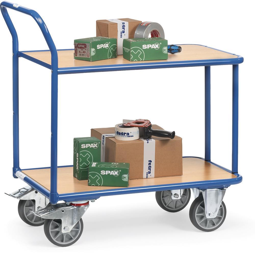 tischwagen 400 kg 2 b den bequem online bestellen bei delta v b rom bel b roeinrichtung. Black Bedroom Furniture Sets. Home Design Ideas