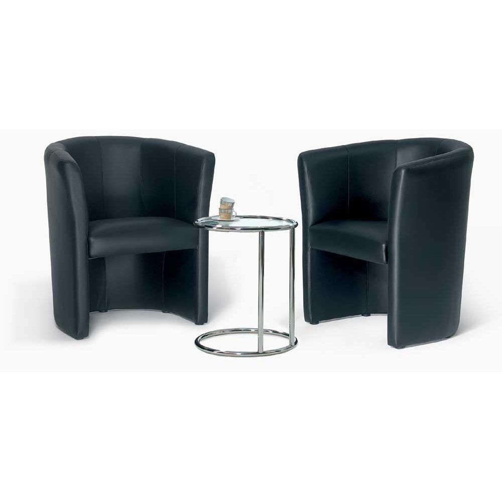 designsessel schwarz sessel kunstleder bequem online bestellen bei delta v b rom bel. Black Bedroom Furniture Sets. Home Design Ideas