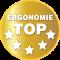 Erfüllt höchste ergonomische Anforderungen gemäß DIN EN 527-1:2011 Typ A bzw. Typ B und DIN Fachbericht 147