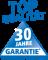 30 Jahre Garantie auf Emaille Oberfläche