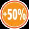 + 50% mehr Stauraum