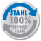 100% recyclefähig