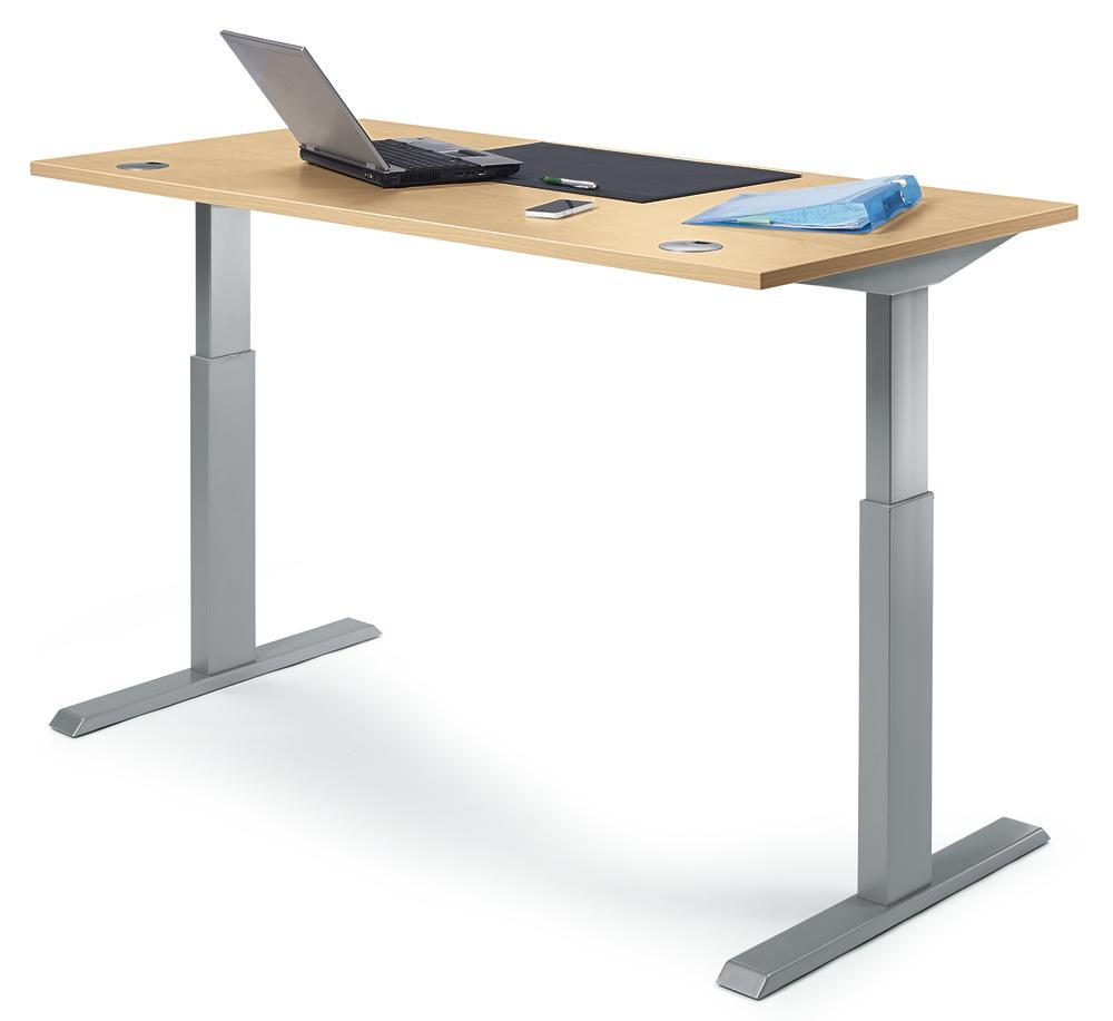 Sitz-/Stehschreibtische Basic MODUL | bequem online bestellen bei ...
