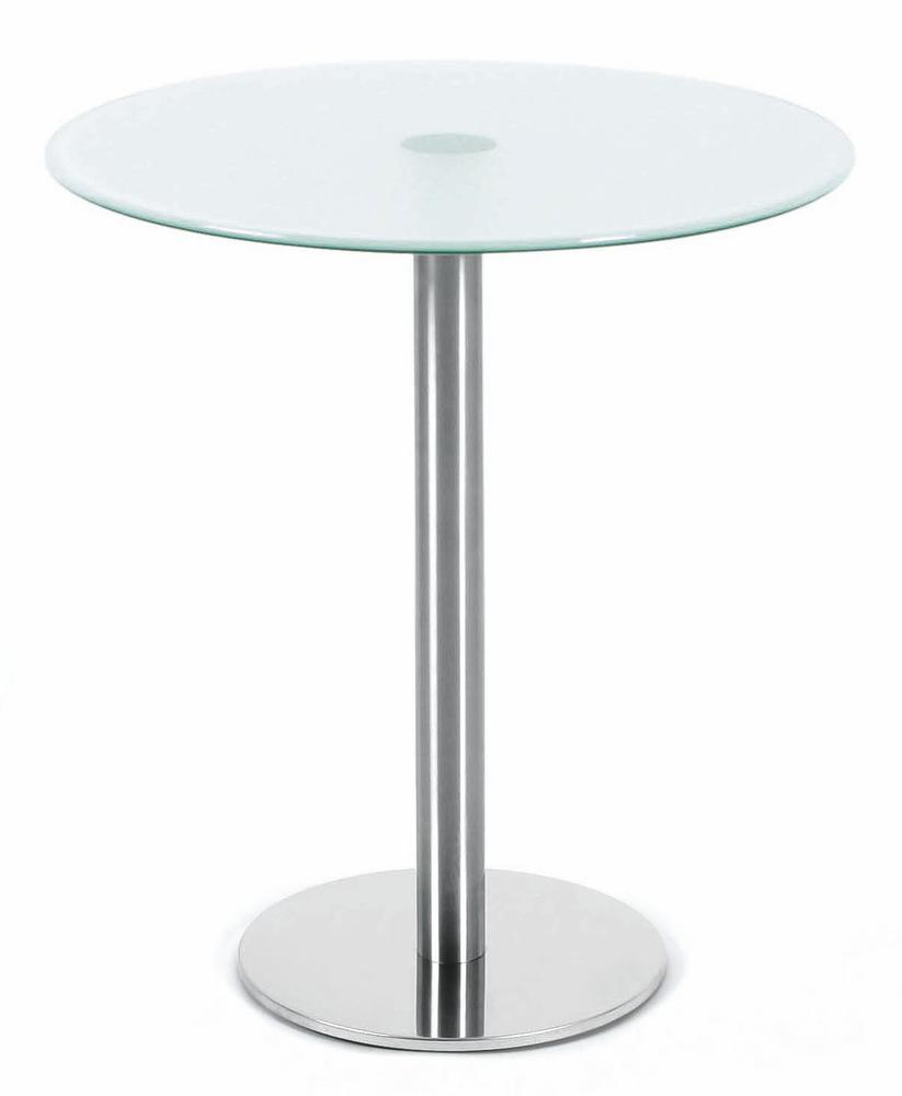 Glastische mit edelstahlgestell bequem online bestellen for Glas tische