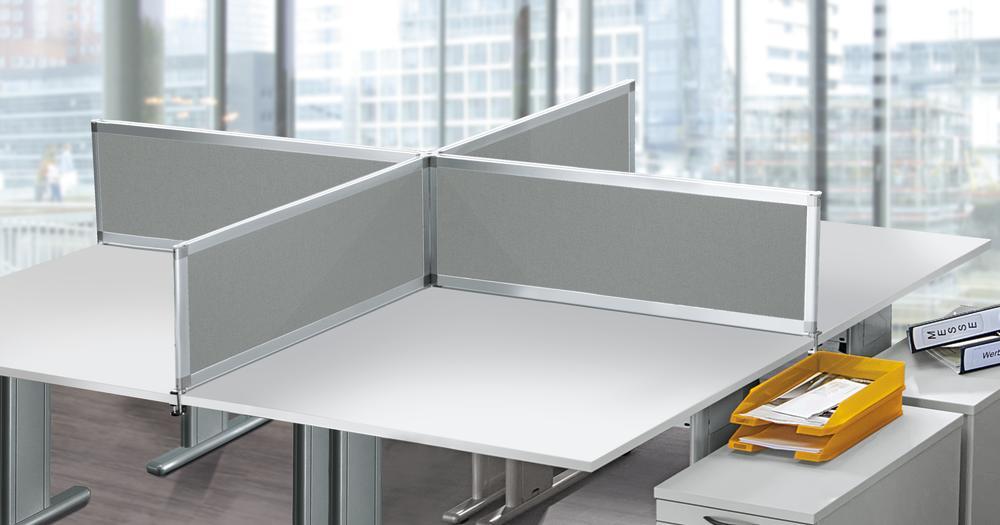 Trennwand System Miami Plus Schallabsorbierend Bequem Online