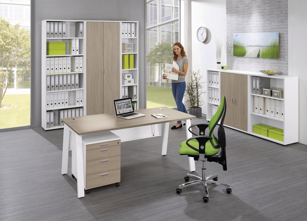 schreibtische delta rio bequem online bestellen bei delta v b rom bel b roeinrichtung. Black Bedroom Furniture Sets. Home Design Ideas