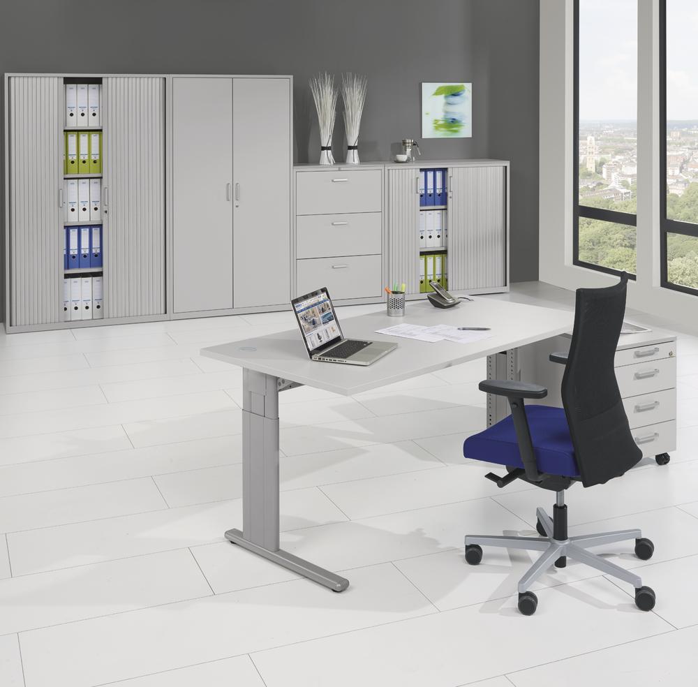 schreibtische 4 fu concept modul bequem online bestellen bei delta v b rom bel. Black Bedroom Furniture Sets. Home Design Ideas